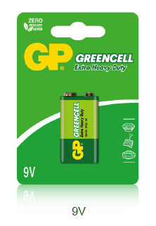 Greencell Carbon Zinc